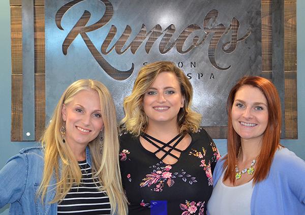 Jessica Kenealy, Owner; Jessica Kreis, Manager; Jordan Bovill, Manager