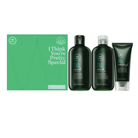 Tea Tree Special Shampoo, Conditioner, Firm Hold Gel
