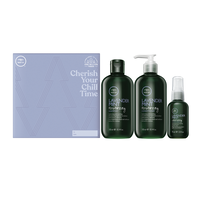 Tea Tree Lavender Mint Shampoo, Conditioner, Leave-In Spray