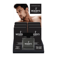 Woodys Signature Fragrance - 6 count display