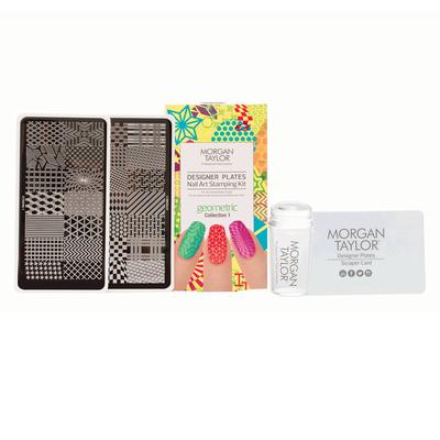 Nail Art Stamping Kit | Geometric