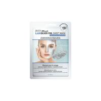 Lux Foil Facial Mask - Silver
