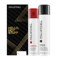 Stay Strong Hairspray, Hot Off the Press Styling Duo