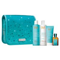 Moisture Repair Shampoo, Conditioner, Mask, Oil Holiday Set