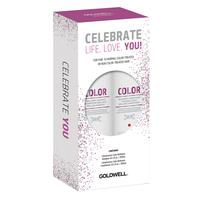 Dualsenses Color Brilliance Shampoo, Conditioner Holiday Set