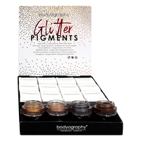 Bodyography Glitter Pigments 16 Piece Display 1