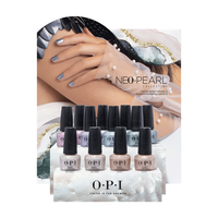Neo-Pearl Nail Lacquer Collection - 12 Piece Display