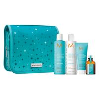 Extra Volume Shampoo, Conditioner, Mask, Oil Holiday Set