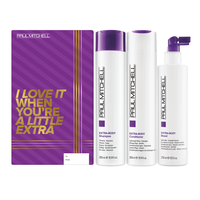 Extra-Body Daily Shampoo, Conditioner, Boost Trio