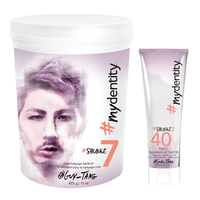#Stroke7 Rose Clay Lightener, 40 Volume Thicc Activator