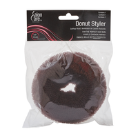 Salon Care Donut Styler Brown - Large 4.7 Inch