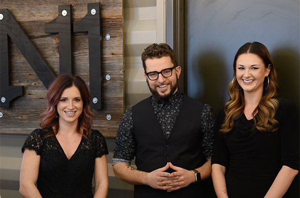 Jessica Roninelli, Christopher Hartl and Jessica Jannsen