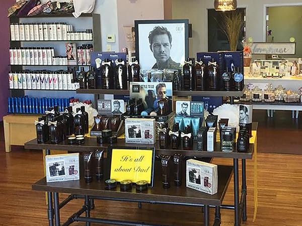 American Crew Display Contest Lucienne Salon & Boutique, South Jordan, UT