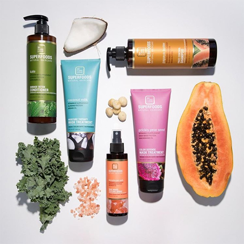 BE.CARE.LOVE Superfoods Natural Haircare