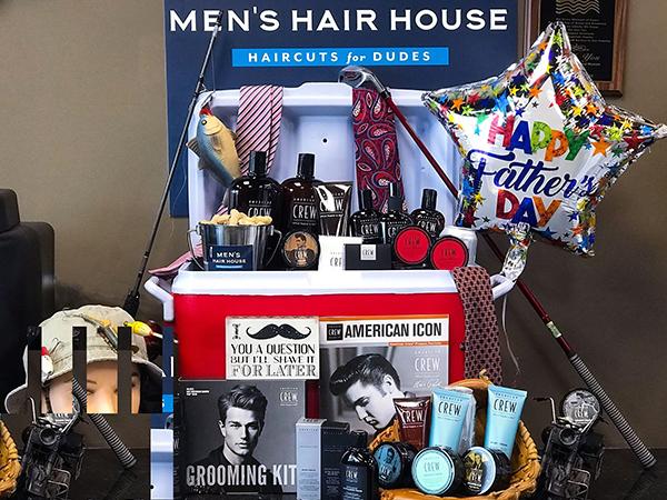 American Crew Display Contest Men's Hair House, Menominee Falls, WI