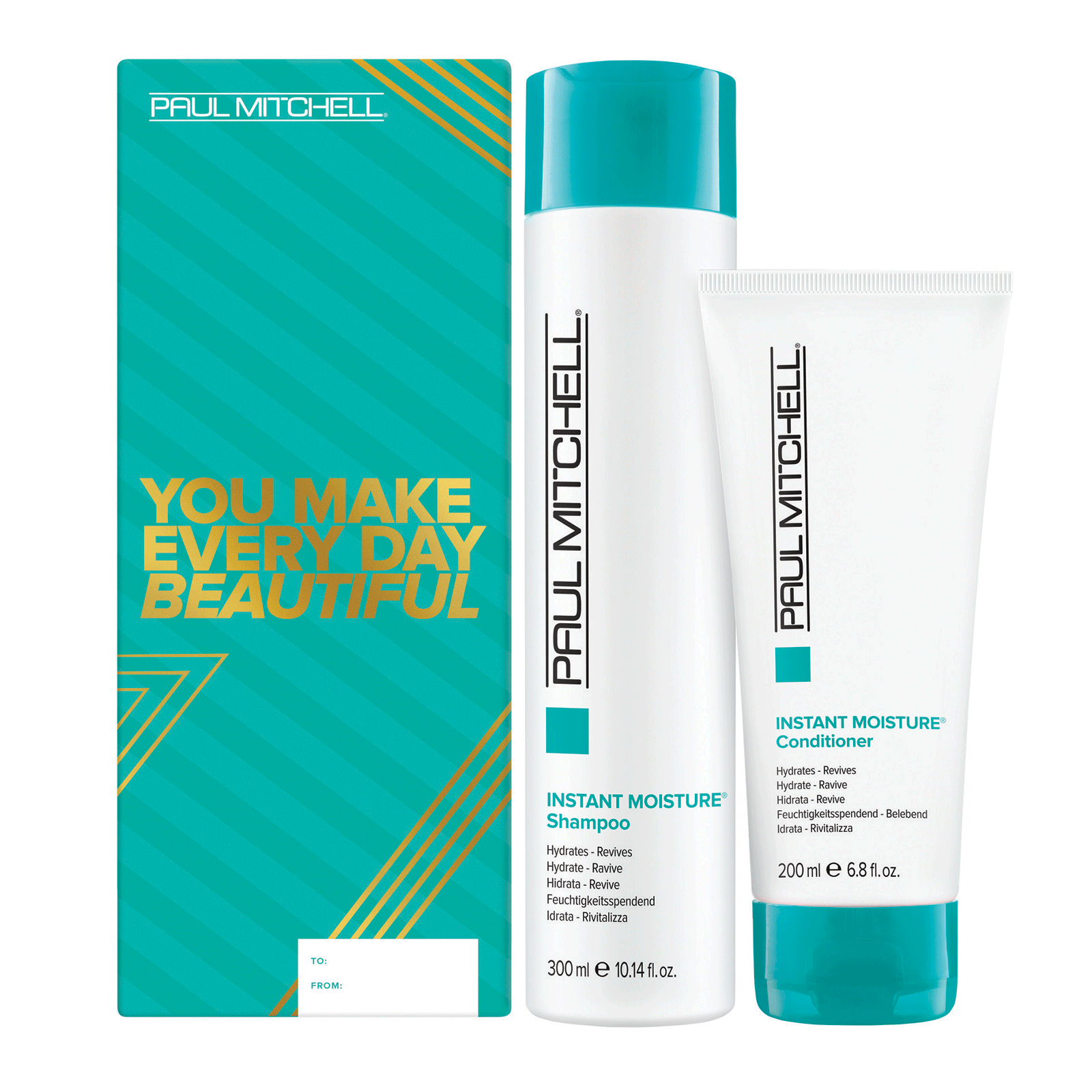 Instant Daily Shampoo, Conditioner Holiday Duo
